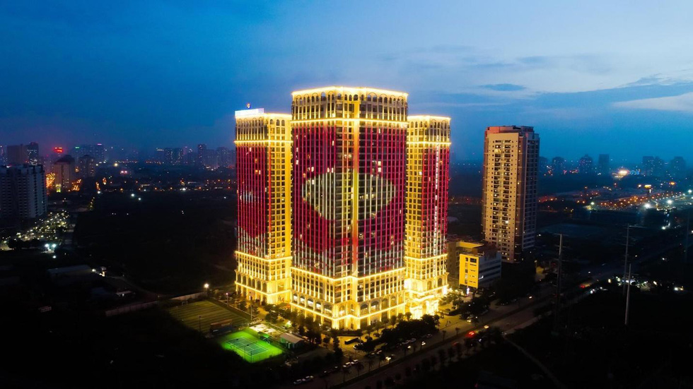 Chi 3 triệu USD lắp đèn led cho tòa tháp S1 - Ảnh 5.