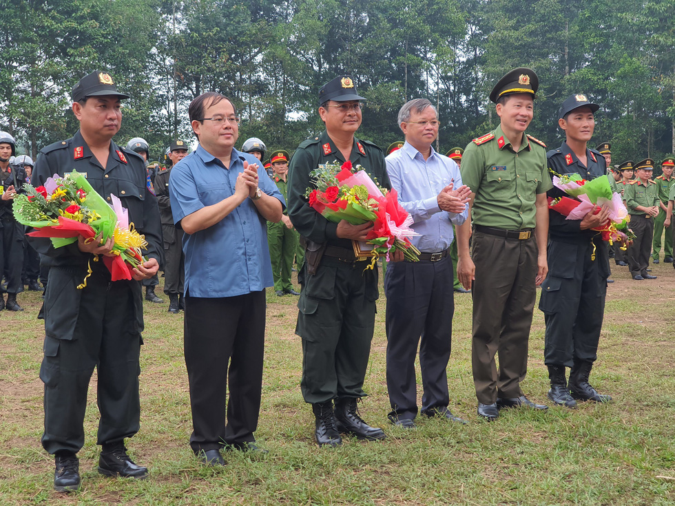 Công an Đồng Nai lập tổ an ninh bảo vệ khu vực dự án sân bay Long Thành - Ảnh 3.