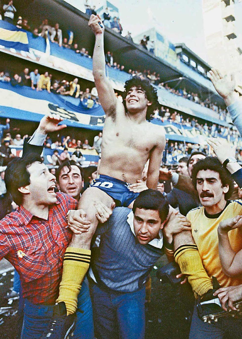 Sự nghiệp vĩ đại của Maradona qua ảnh - Ảnh 4.