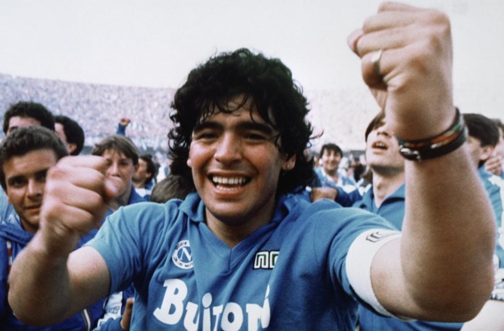 Sự nghiệp vĩ đại của Maradona qua ảnh - Ảnh 9.