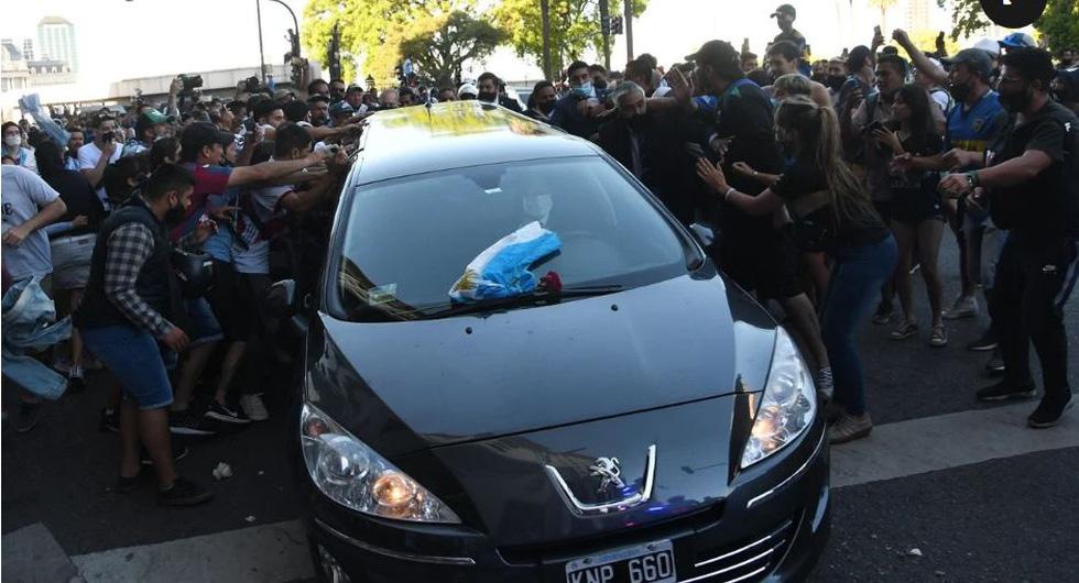 Tiễn đưa huyền thoại Maradona đến thiên đường - Ảnh 6.