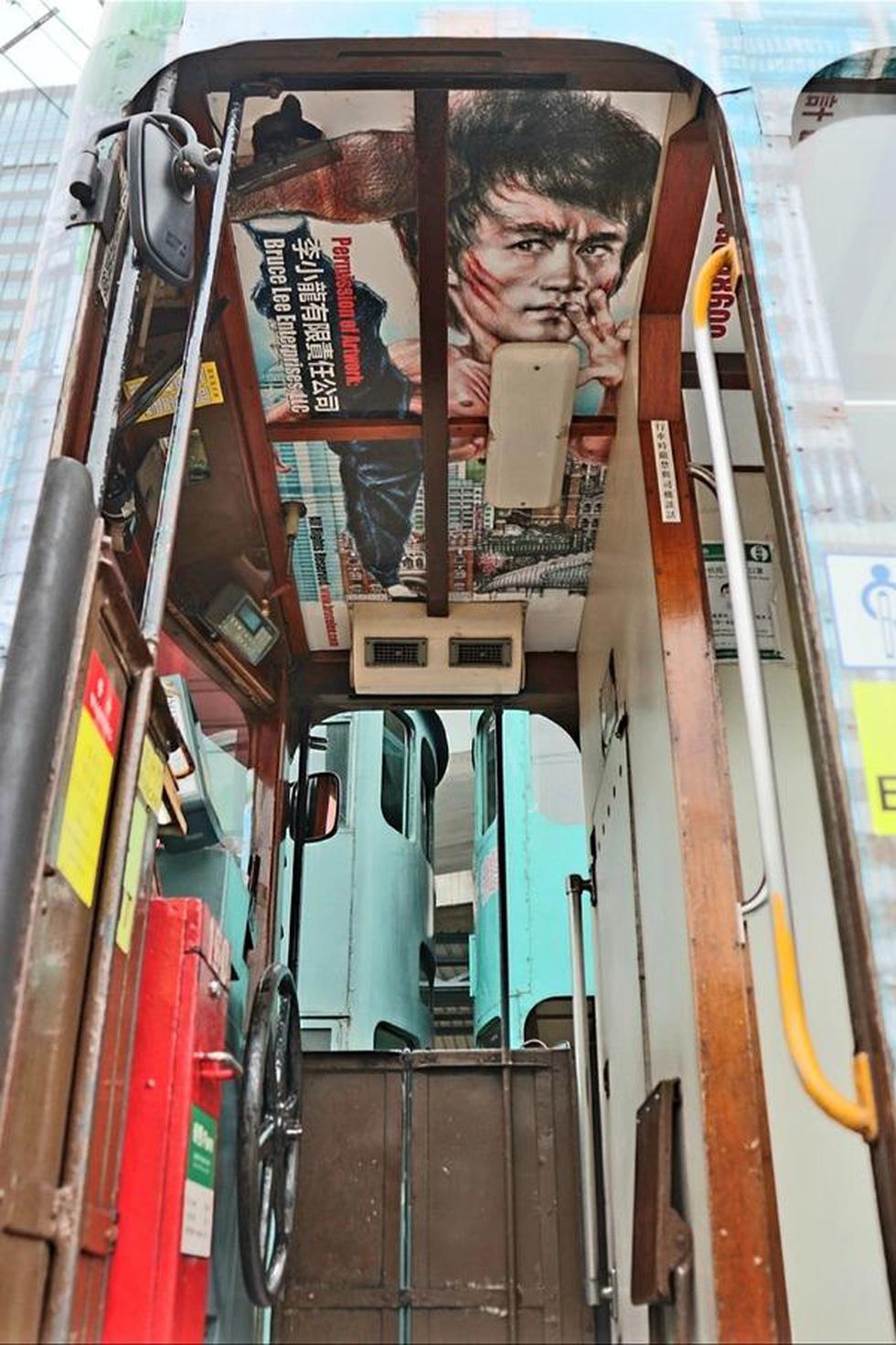 Hong Kong kỷ niệm 80 năm ngày sinh Lý Tiểu Long với chủ đề xe điện - Ảnh 5.