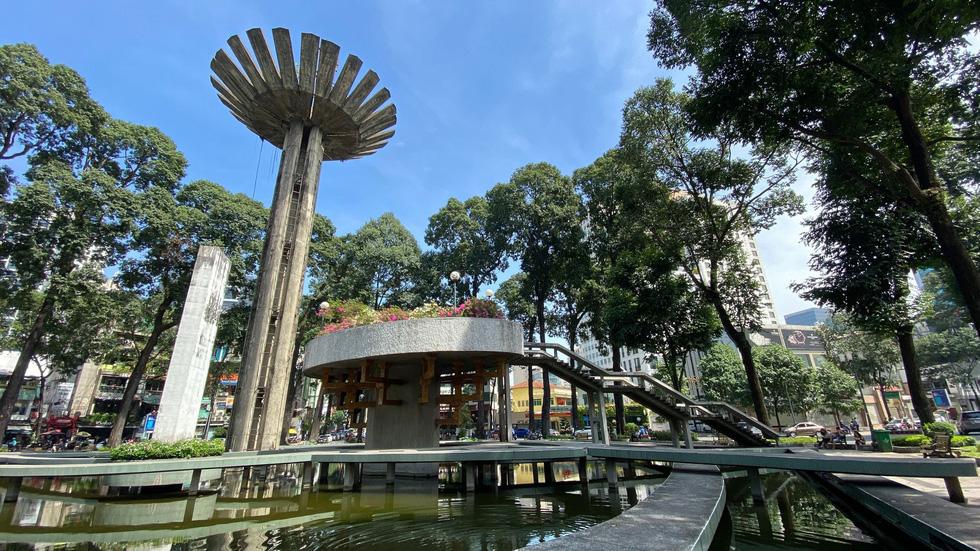 Ngắm khu vực hồ Con Rùa dự kiến cải tạo thành phố đi bộ - Ảnh 1.
