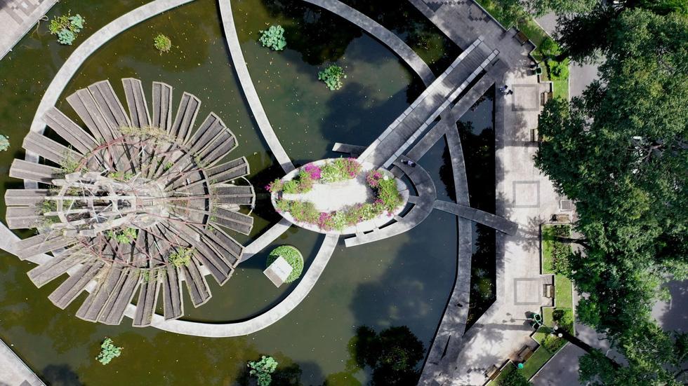 Ngắm khu vực hồ Con Rùa dự kiến cải tạo thành phố đi bộ - Ảnh 3.