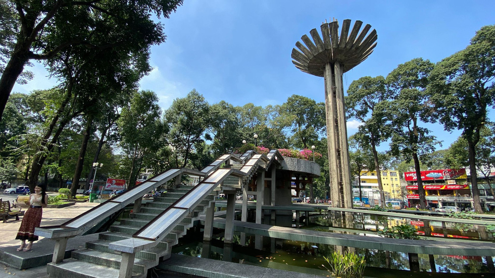 Ngắm khu vực hồ Con Rùa dự kiến cải tạo thành phố đi bộ - Ảnh 4.