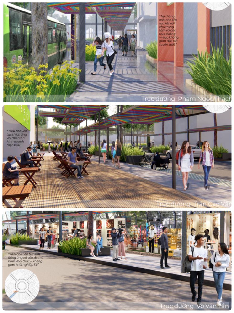 Ngắm khu vực hồ Con Rùa dự kiến cải tạo thành phố đi bộ - Ảnh 9.
