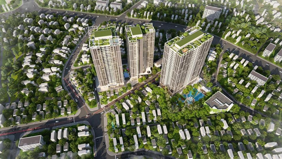 Dự án căn hộ sở hữu công viên xanh 4.000m2 ngay trung tâm Hà Nội - Ảnh 2.