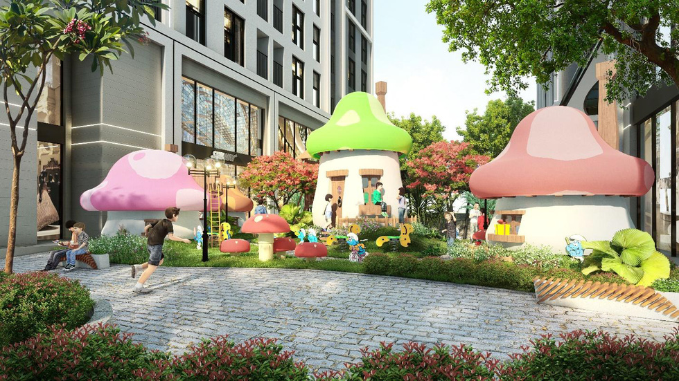 Dự án căn hộ sở hữu công viên xanh 4.000m2 ngay trung tâm Hà Nội - Ảnh 4.
