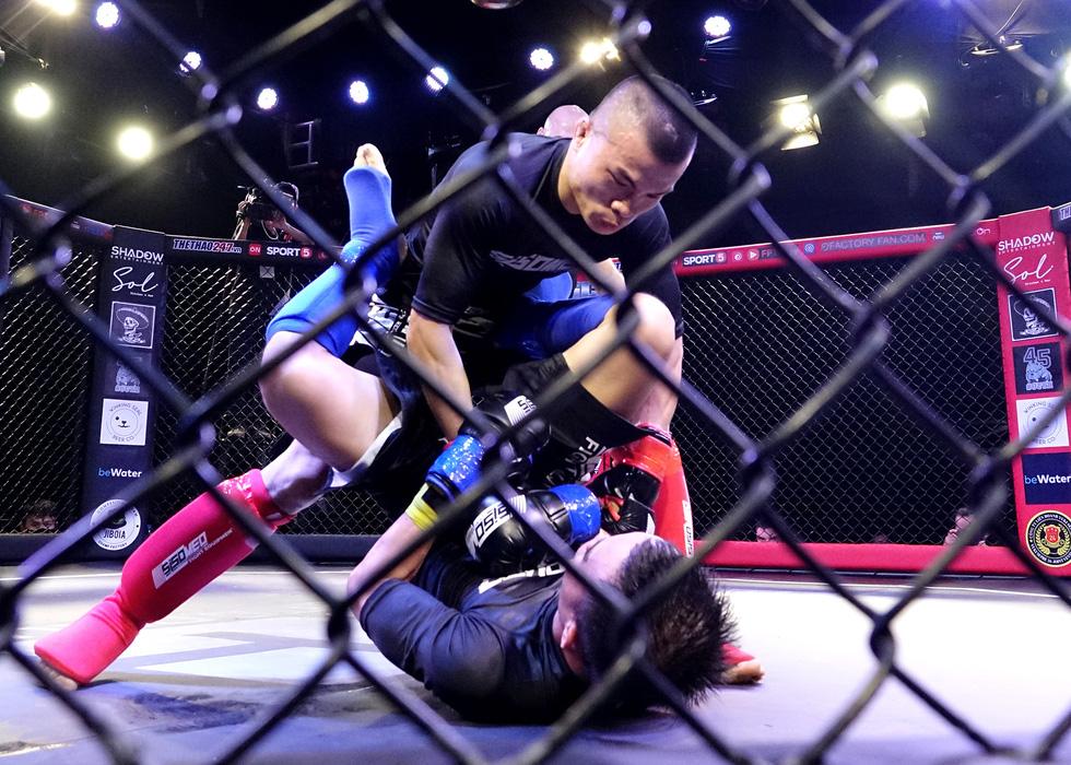 1.000 khán giả xem thi đấu thể thức MMA nghiệp dư tại Việt Nam - Ảnh 1.