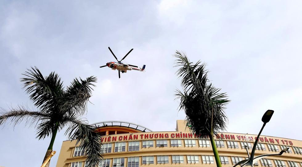 Sân bay cấp cứu bằng trực thăng đầu tiên của Việt Nam đi vào hoạt động - Ảnh 2.