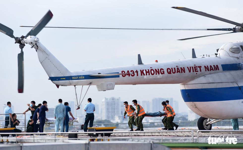 Sân bay cấp cứu bằng trực thăng đầu tiên của Việt Nam đi vào hoạt động - Ảnh 3.