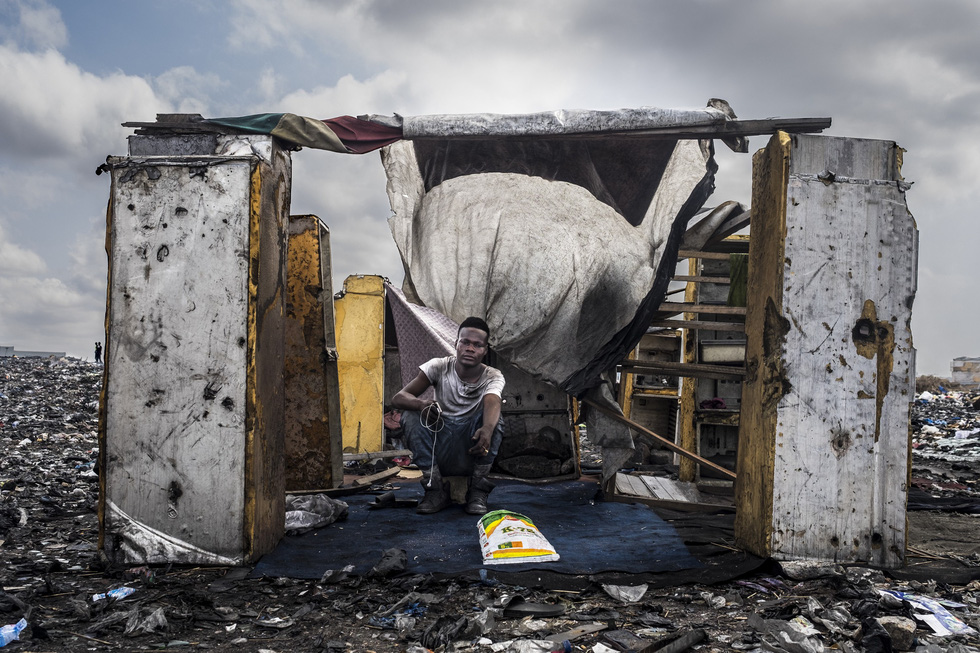 Ô nhiễm kinh hoàng tại bãi rác thải điện tử lớn nhất thế giới - Ảnh 1.