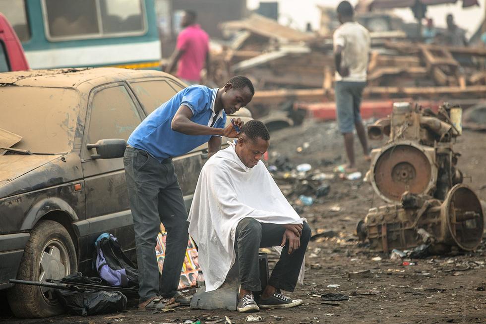 Ô nhiễm kinh hoàng tại bãi rác thải điện tử lớn nhất thế giới - Ảnh 6.