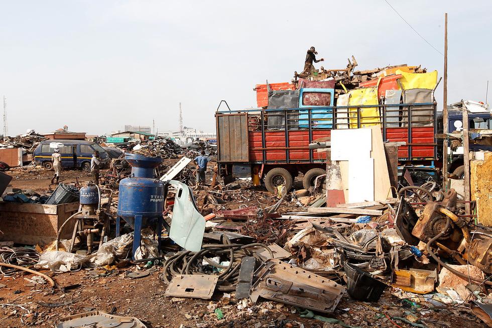 Ô nhiễm kinh hoàng tại bãi rác thải điện tử lớn nhất thế giới - Ảnh 4.