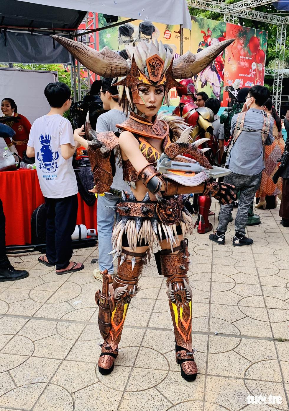 Thi cosplay: Siêu anh hùng bước ra đời thực - Ảnh 4.
