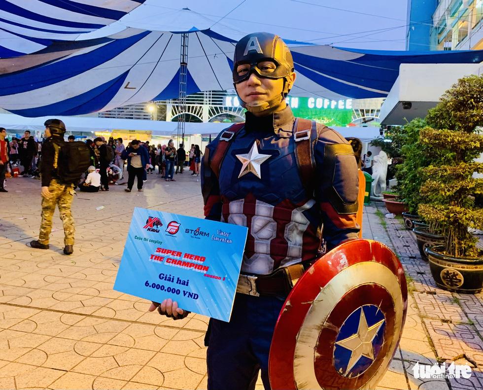 Thi cosplay: Siêu anh hùng bước ra đời thực - Ảnh 3.
