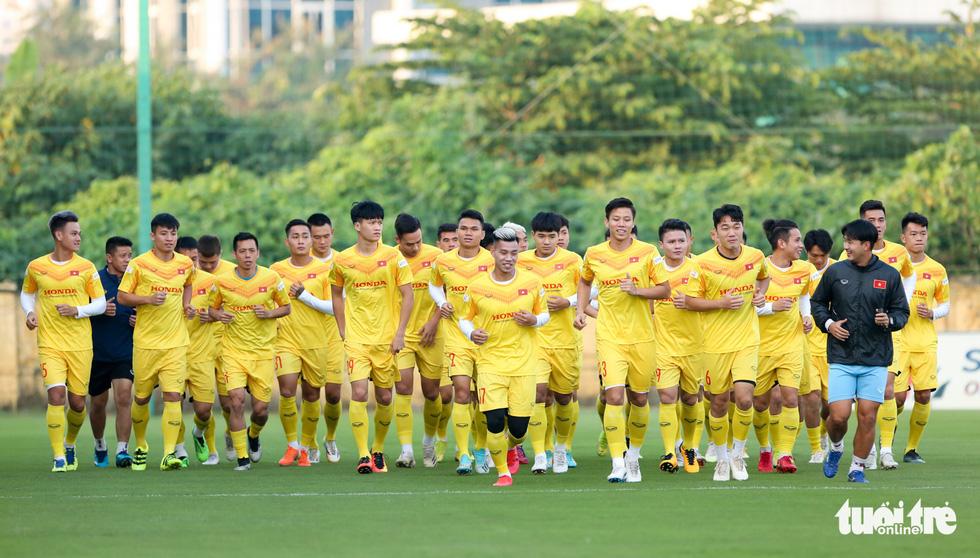 Công Phượng vắng mặt ngày đầu tuyển Việt Nam tập luyện - Ảnh 1.