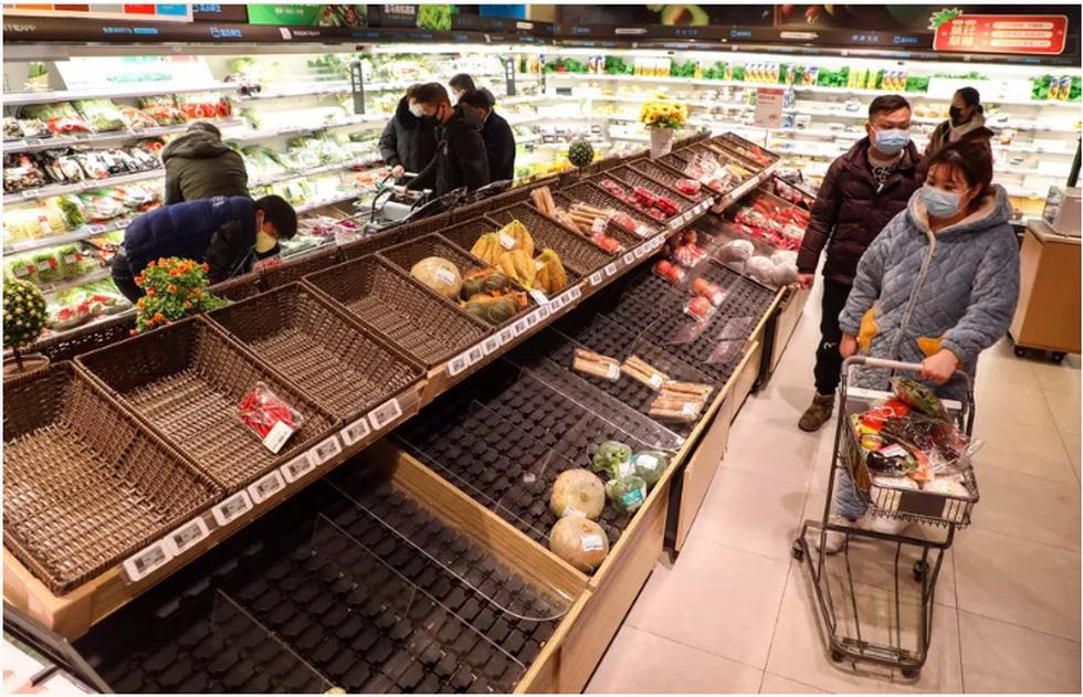 Trung Quốc lo lương thực cho 50 triệu dân bị phong tỏa ở Hồ Bắc ra sao? - Ảnh 1.
