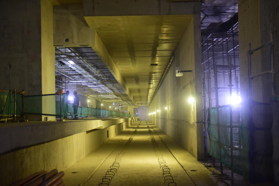 Metro số 1 Bến Thành - Suối Tiên 19,7km đã kết nối thông tuyến - Ảnh 3.