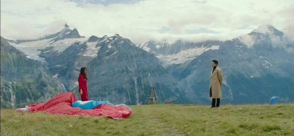 Mê mẩn cảnh đẹp Hàn Quốc, Thụy Sĩ, Mông Cổ trong Hạ cánh nơi anh - Ảnh 10.