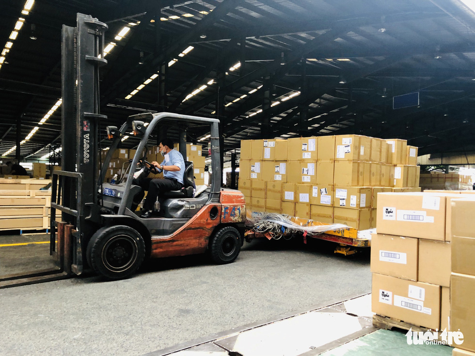 Hàng hóa vận chuyển bằng hàng không bắt đầu phục hồi - Ảnh 1.