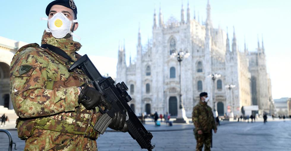 Nước Ý kỳ quái những ngày phong tỏa - Ảnh 1.