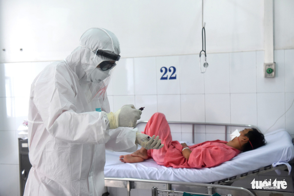 Bên trong khu cách ly bệnh nhân nhiễm corona ở Bệnh viện Chợ Rẫy - Ảnh 11.