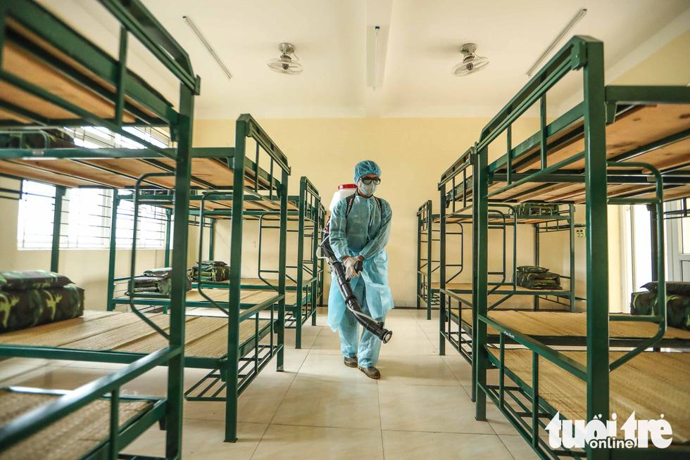 Cận cảnh khu cách ly tiện nghi của quân đội, sẵn sàng đón 950 người Việt về nước - Ảnh 2.