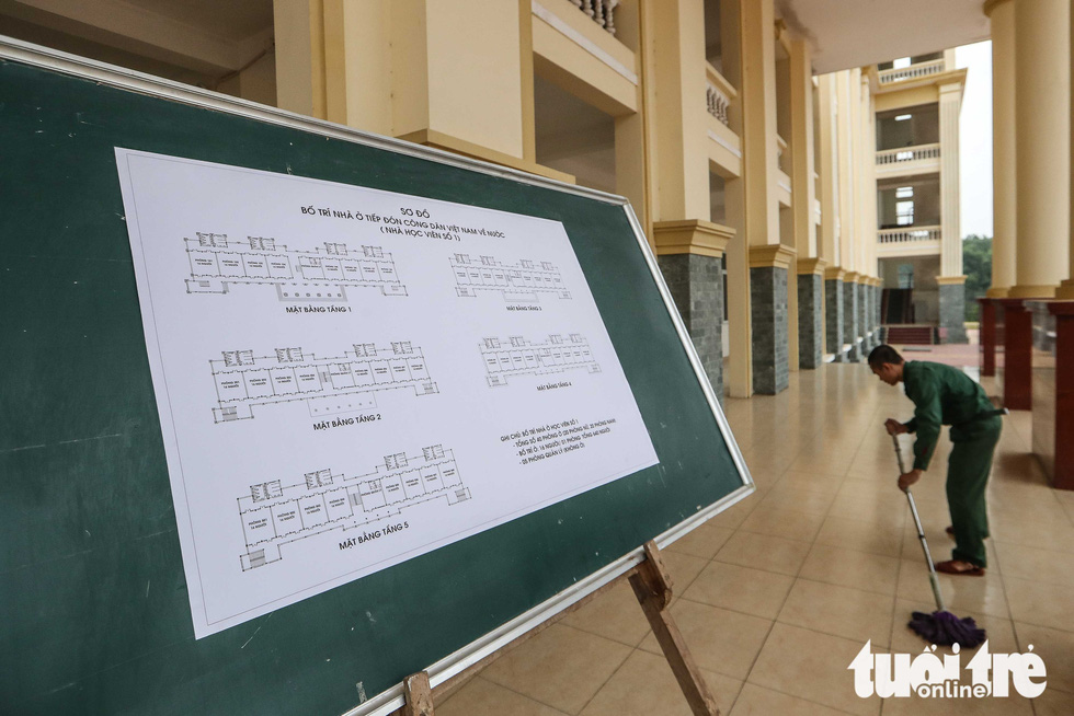 Cận cảnh khu cách ly tiện nghi của quân đội, sẵn sàng đón 950 người Việt về nước - Ảnh 13.