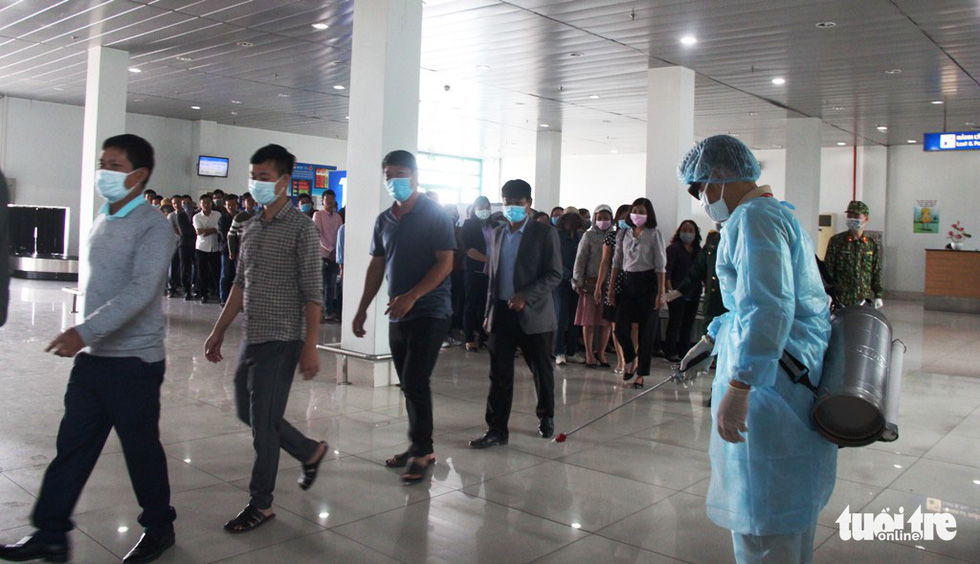 Diễn tập đón công dân Việt Nam từ vùng dịch trở về Huế - Ảnh 2.