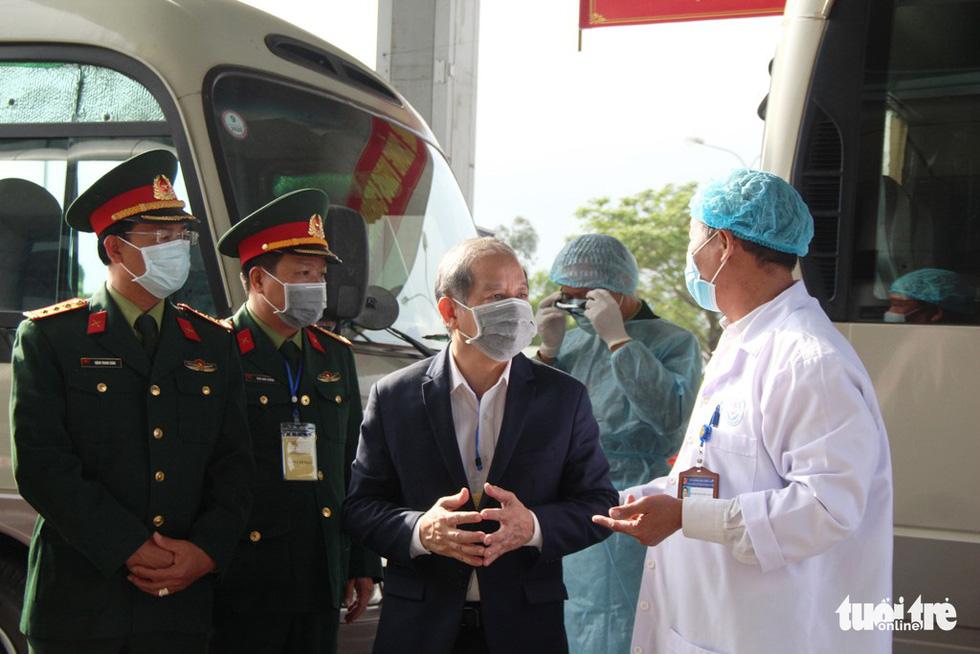 Diễn tập đón công dân Việt Nam từ vùng dịch trở về Huế - Ảnh 5.