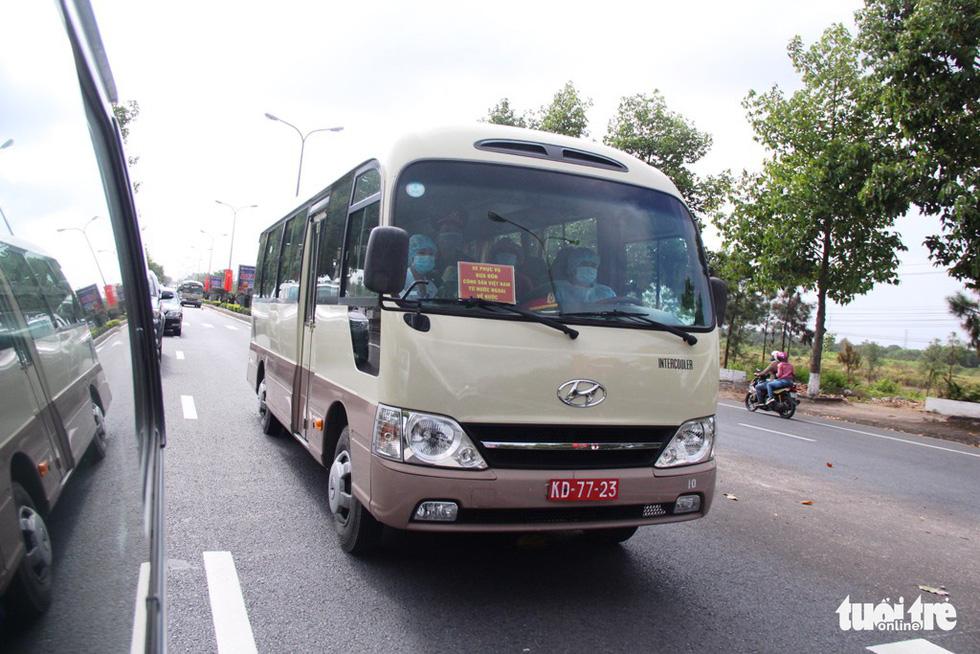 Diễn tập đón công dân Việt Nam từ vùng dịch trở về Huế - Ảnh 6.