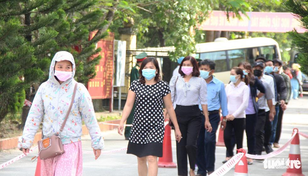 Diễn tập đón công dân Việt Nam từ vùng dịch trở về Huế - Ảnh 7.