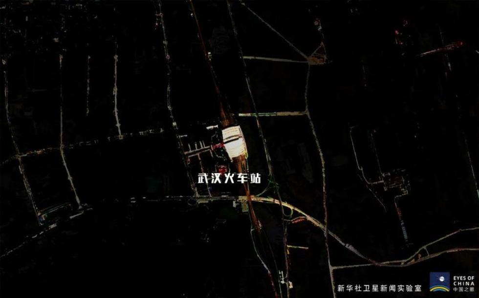 Qua ảnh vệ tinh, ngắm Vũ Hán hăng hái chiến đấu với dịch COVID-19 - Ảnh 1.