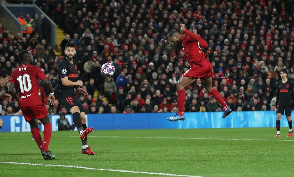 Những khoảnh khắc ấn tượng trong ngày Atletico Madrid tiễn Liverpool khỏi Champions League - Ảnh 1.