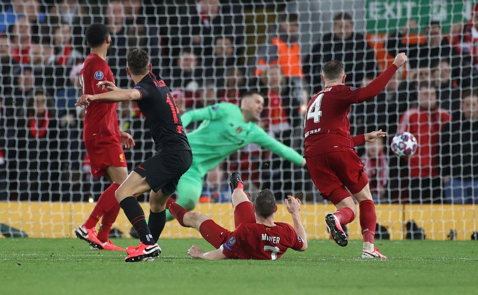 Những khoảnh khắc ấn tượng trong ngày Atletico Madrid tiễn Liverpool khỏi Champions League - Ảnh 7.