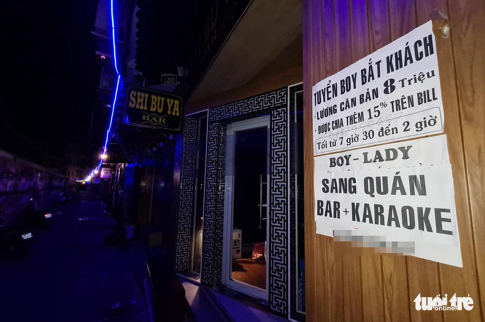 Phố bar, massage Nhật Bản ở quận 1 vắng như… tết - Ảnh 8.
