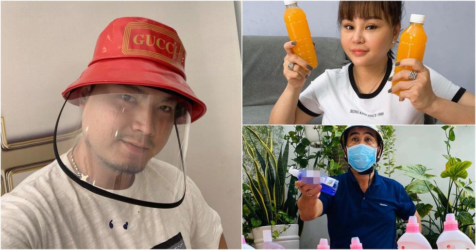 COVID-19: Quyền Linh, Khả Như bán hàng online, Bích Phương, Min, Chi Pu ủ mưu gì? - Ảnh 1.