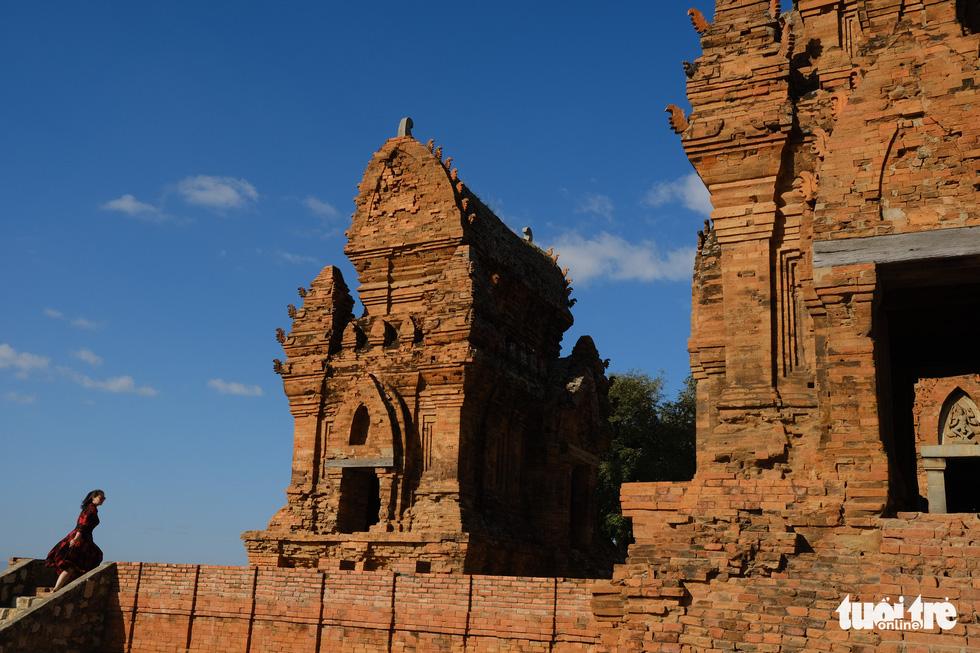 Tháp Chàm Po Klong Garai sừng sững giữa nắng gió Phan Rang - Ảnh 7.