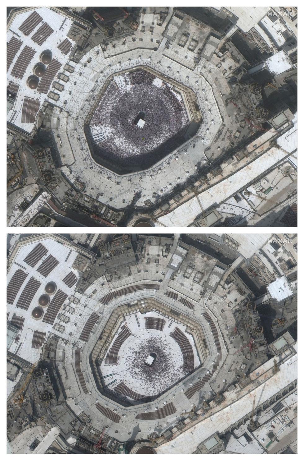 Chùm ảnh: Thế giới trước và sau cơn sóng thần COVID-19 - Ảnh 4.