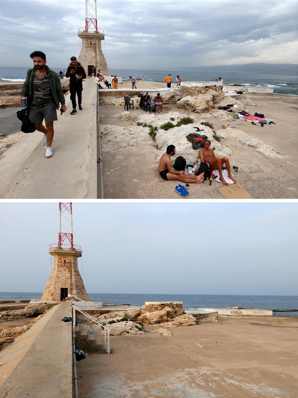 Chùm ảnh: Thế giới trước và sau cơn sóng thần COVID-19 - Ảnh 7.