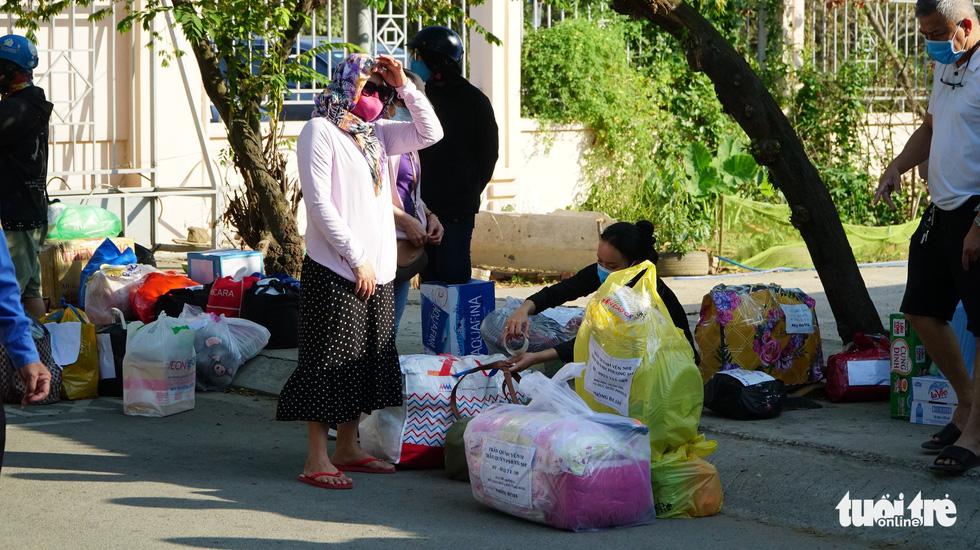 Trung tâm Giáo dục quốc phòng ĐHQG TP.HCM đón gần 1.000 người cách ly - Ảnh 4.