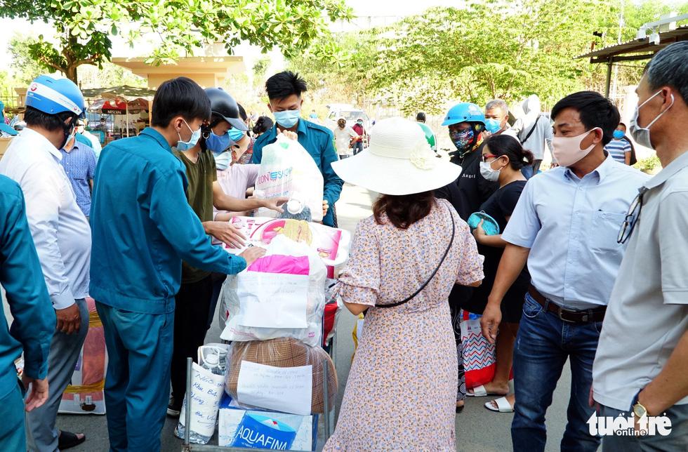 Trung tâm Giáo dục quốc phòng ĐHQG TP.HCM đón gần 1.000 người cách ly - Ảnh 5.