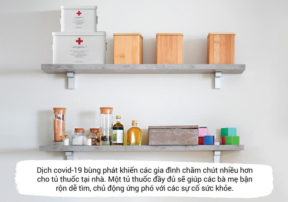 Những thứ không thể thiếu trong 'tủ thuốc gia đình' để phòng virus - Ảnh 1.