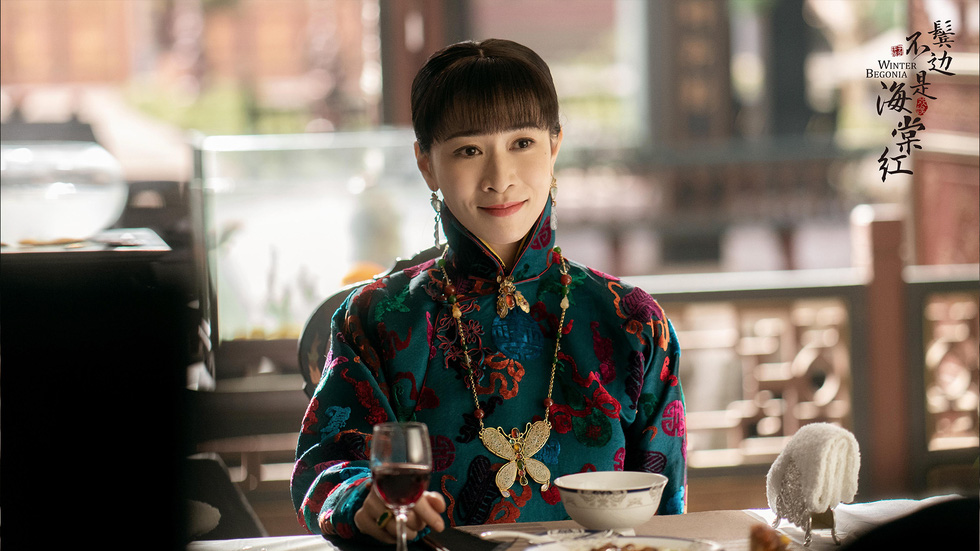 Bên tóc mai không phải hải đường hồng của Huỳnh Hiểu Minh, Xa Thi Mạn gây sốt - Ảnh 8.