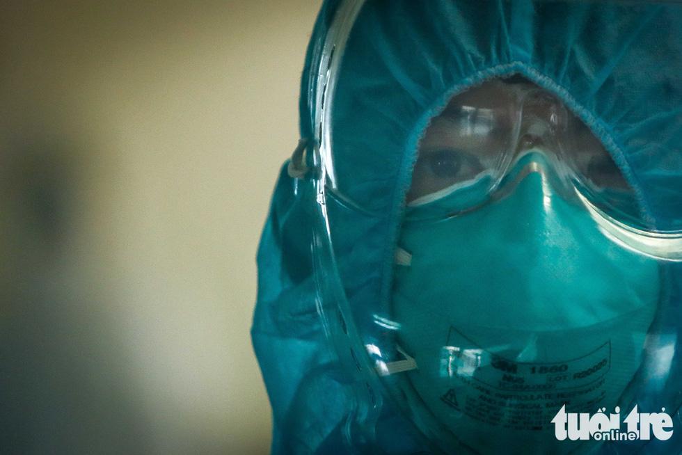 Cận cảnh nơi chữa 46 bệnh nhân dương tính trong trận chiến chống COVID-19 - Ảnh 1.