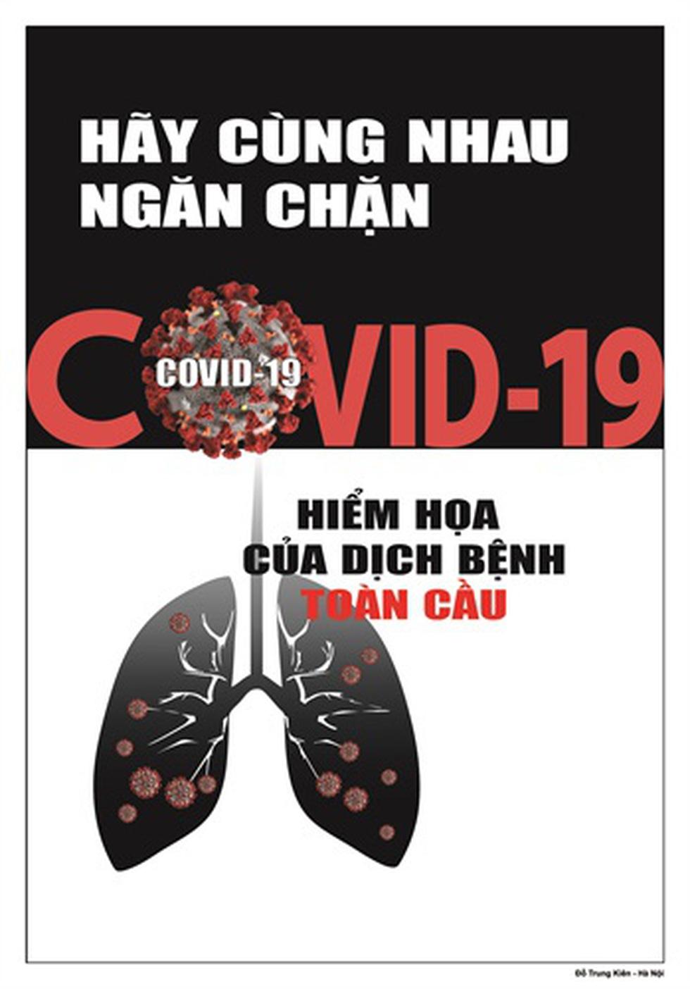 Tin giả gánh hậu quả thật vào tranh cổ động phòng chống COVID-19 - Ảnh 7.