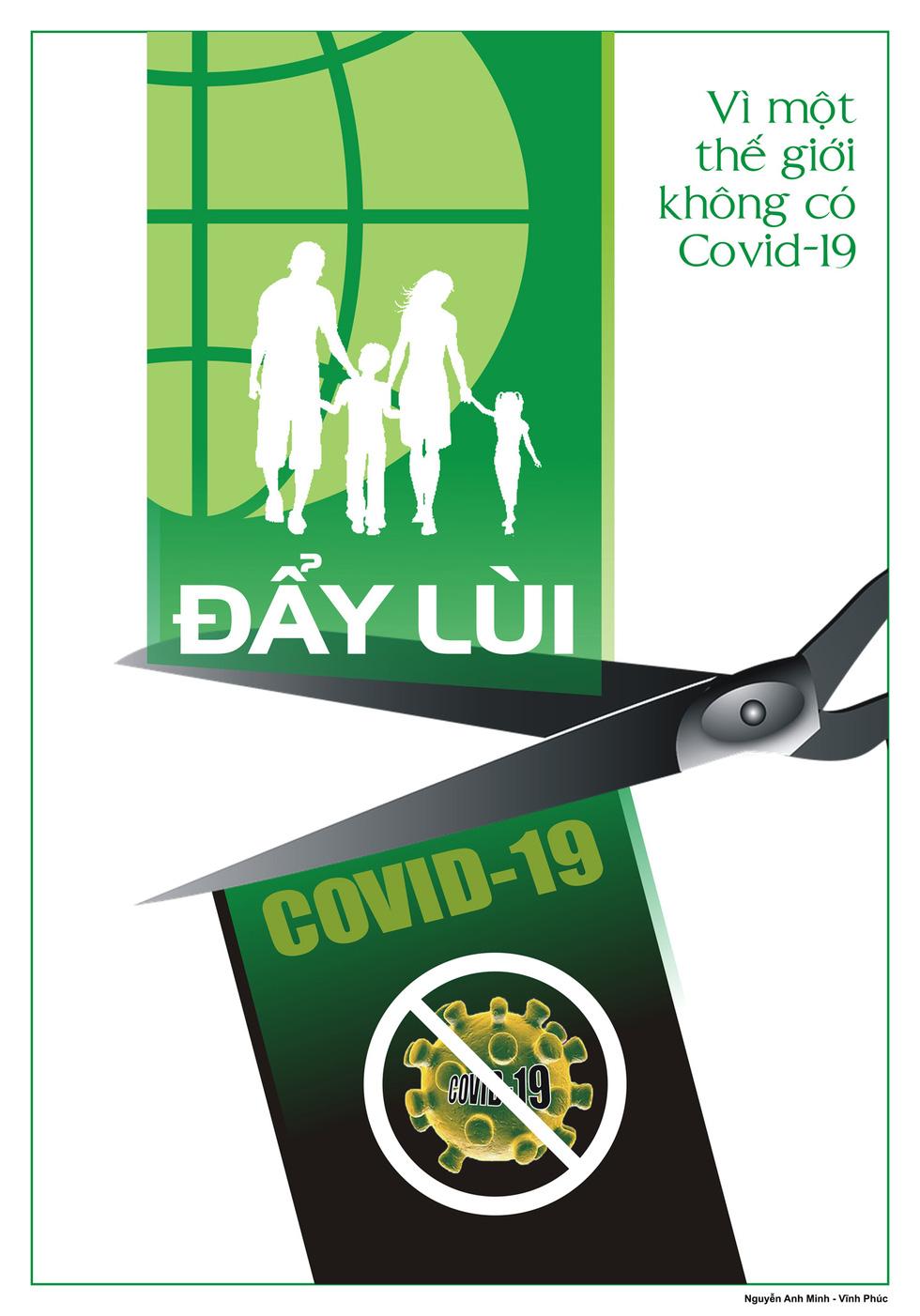 Tin giả gánh hậu quả thật vào tranh cổ động phòng chống COVID-19 - Ảnh 9.