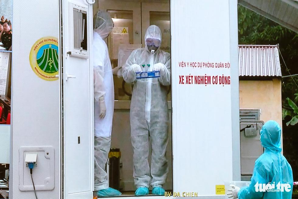 Bộ Quốc phòng diễn tập phòng chống dịch COVID-19 với quy mô chưa từng có - Ảnh 6.