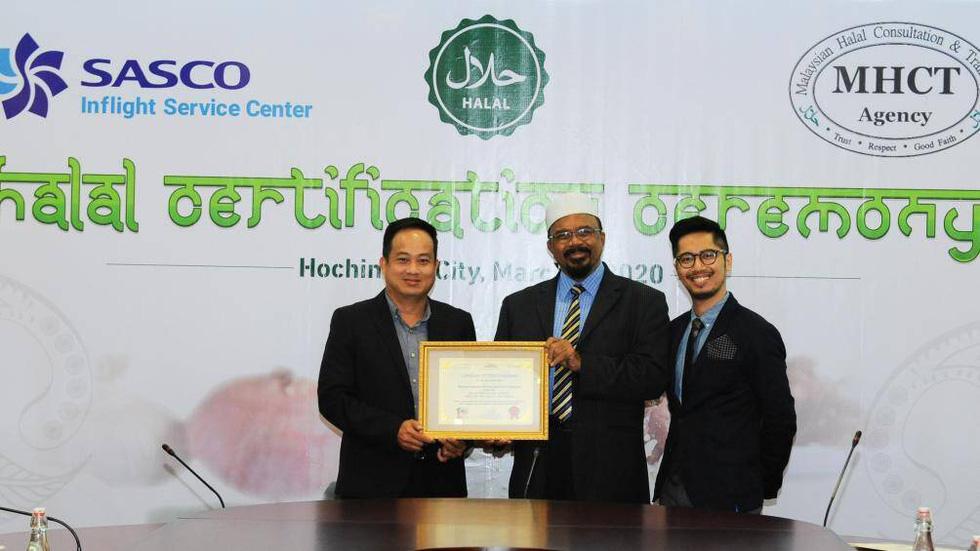 SASCO đạt chứng nhận Halal phục vụ hành khách Hồi giáo - Ảnh 1.